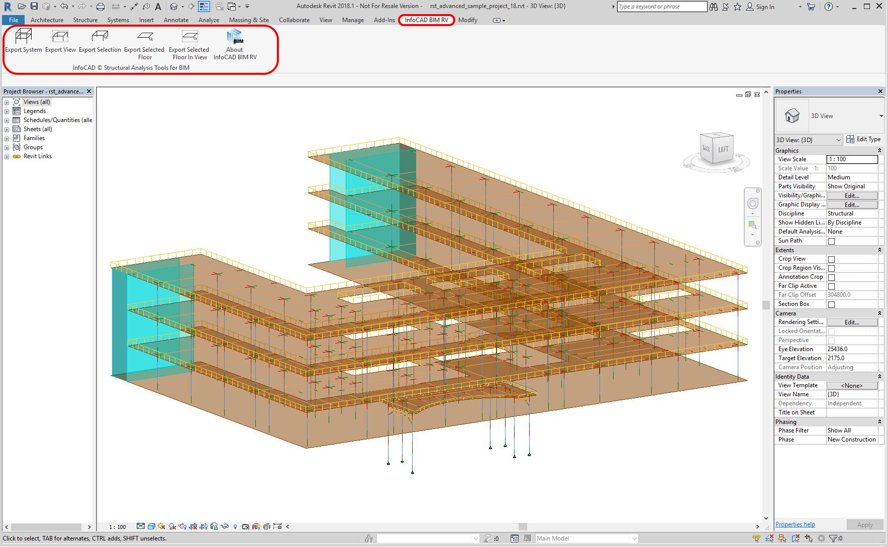 Add-In for Autodesk® Revit® | InfoGraph Software für die
